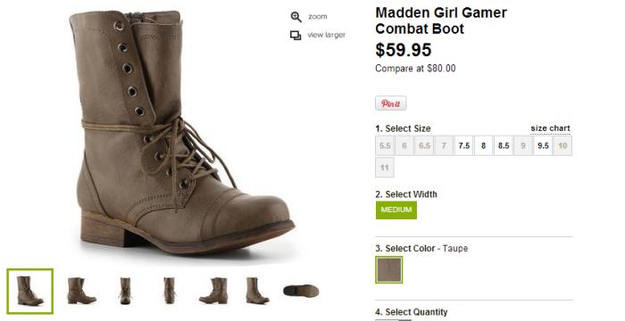 Girl Gamer Boots