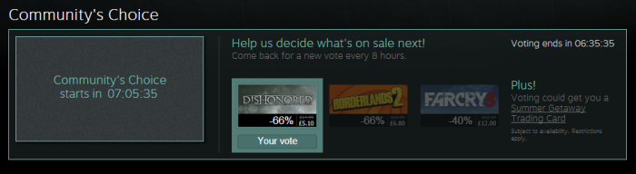 Community's Choice 1
