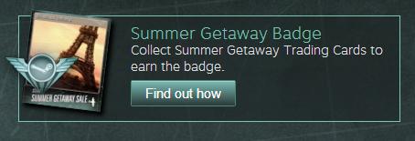 Summer Getaway Badge